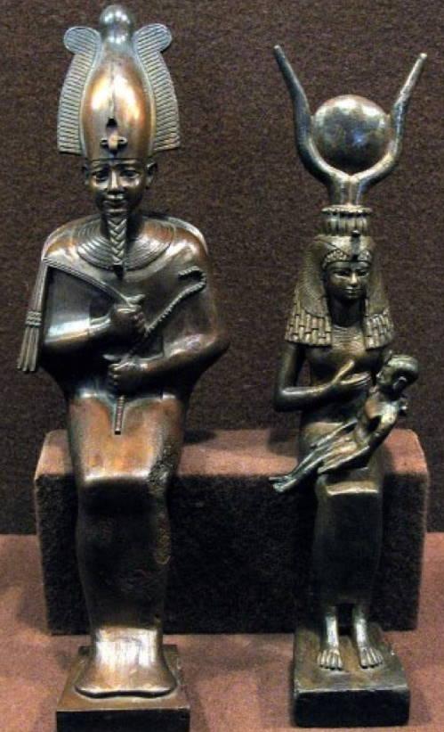Izgotovlenie-metalla-Egipetskie-bronzovye-statui