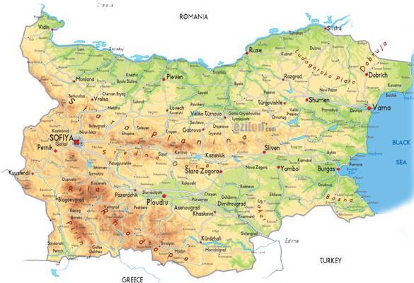 Raspolozhenie-Bolgarii