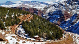 Лучшие горнолыжные курорты мира Укаймеден 1