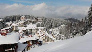 На горнолыжном курорте Pamporovo погода плохой не бывает.