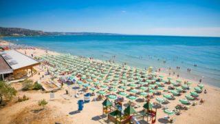 Золотые пески самый известный курорт в Болгарии