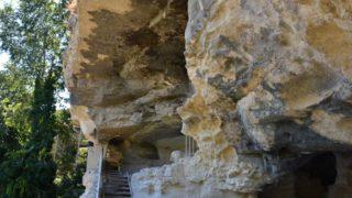 Двухуровневый скальный монастырь Аладжа (Болгария)