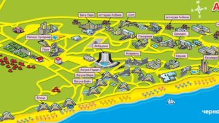 Албена – один из самых популярных курортов на черноморском побережье Болгарии.