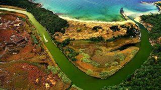 Река находится в заповеднике Ропотамо в 20 км от Созополя.