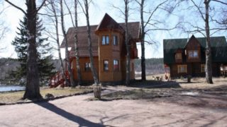"""База отдыха """"Микли-Ольгино"""" на настоящем карельском хуторе на Ладоге"""