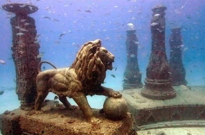 Дворец Клеопатры в Египте