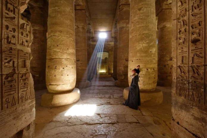 Абидос древний город в Египте