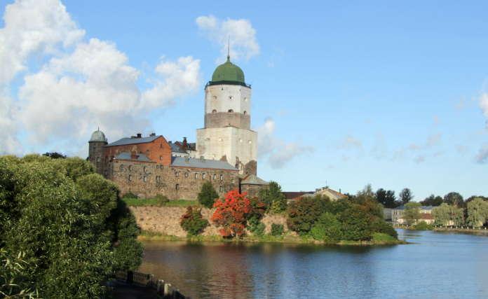Выборгский замок история
