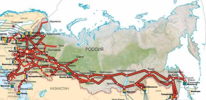 Захватывающее путешествие на поезде по России